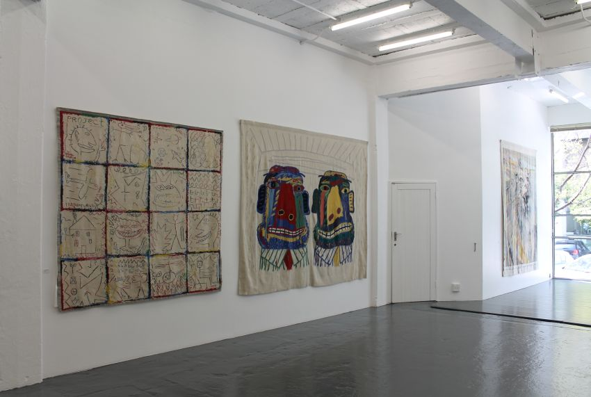 Click the image for a view of: Installation view 9
