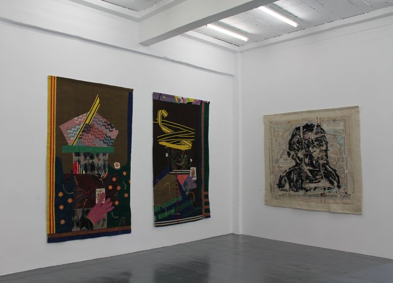 Click the image for a view of: Installation view 8