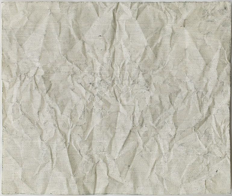 Click the image for a view of: Chloe Reid. documents VIII. 2015. Etching on paper, folded. 390X470mm