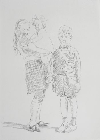 Click the image for a view of: Ruth Rosengarten. Untitled (Photographs). 2011. pencil on paper. 420X297mm